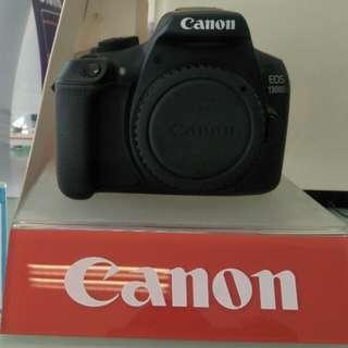 Kamera canon EOS 1300D black 18 mp cicilan free DP free 1x cicilan