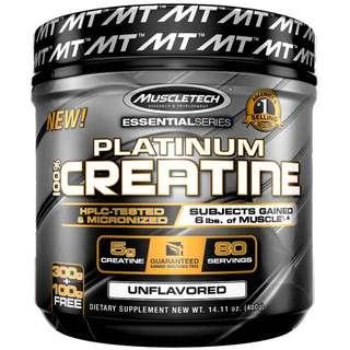 Muscletech Creatine Platinum 400g
