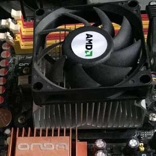 AMD CPU Athlon II 連風扇 +2G Ram