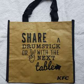 KFC Recycle Bag Limited Edition