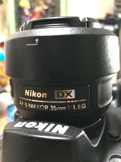Nikon AFS DX NIKKOR 35mm 1.8定焦