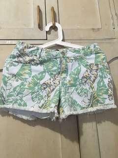 Just G Tropical Shorts