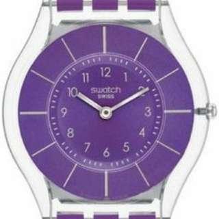 Swatch Purple Watch SFV107