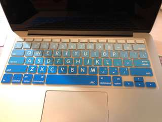 "Keyboard cover for 13"" Macbook Pro"