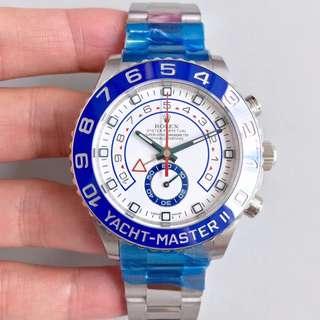 環亞  Rolex Yacht Master 116680-78210 新款藍圈 計算器錶 JF 廠 新版 面交