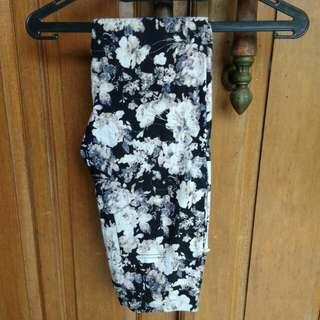 Abstrak flower pants