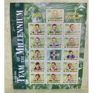 ireland (愛爾蘭) stamp-souvenir sheet