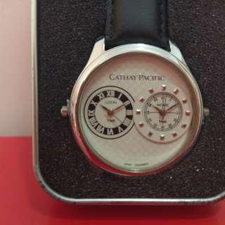 2 country Watch 國泰絕版雙國家手錶