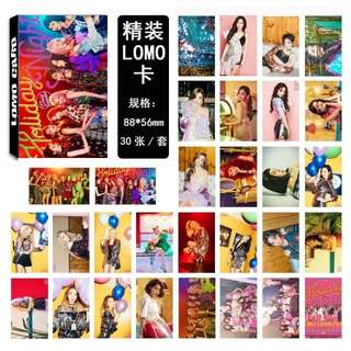 SNSD GIRLS GENERATION HOLIDAY NIGHT LOMO CARDS 30 PCS