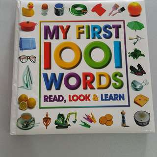 My First 1001 words book