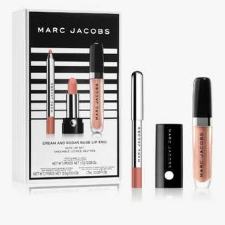 Marc jacobs beauty cream and sugar nude lip trio