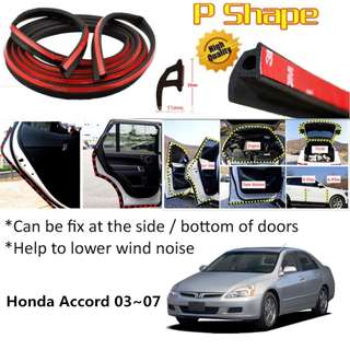 Door Sound Insulation Stripe For Accord 03-07