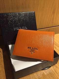 Prada wallet👛(orange)