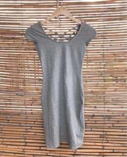 Item 019: criss-crossed bodycon dress