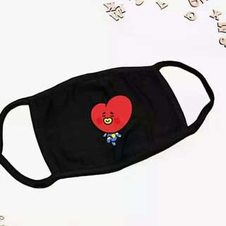BT21 mouth mask 💫