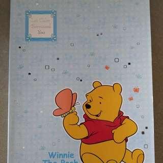 Winnie the Pooh 練習簿