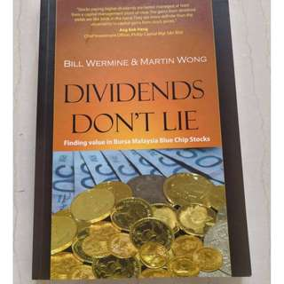 Dividends Don't Lie (Bill Wermine & Martin Wong