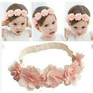 Flower hair band for baby girl- stretchable