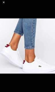 Lacoste leather shoes