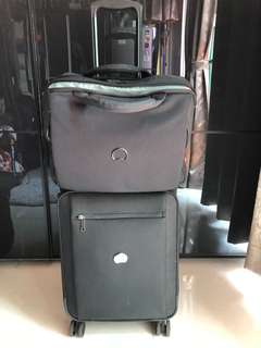 Delsey 飛行人員專用飛行袋和小喼 Pilot bag and small carry on luggage