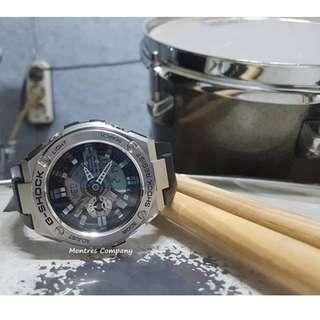Montres Company香港註冊公司(25年老店) CASIO g-steel GST-410 GSA-410-1 GST-410-1A 有現貨 GST410 GST4101 GST4101A