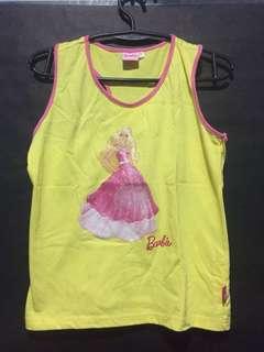 Yellow Barbie Shirt