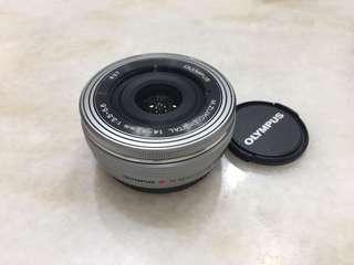 Olympus M.Zuiko 14-42mm ez pancake zoom lens