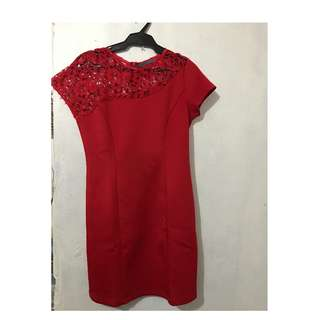 Maldita Red Dress