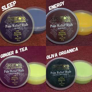 Pain Relief Rub by Creations Spa Essentials