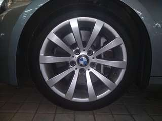 "Original BMW 17"" stock wheels"