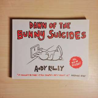 Dawn of the bunny suicides (comic) book