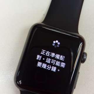 Apple Watch Ser.1 42MMS Black 連充電線 SH010701