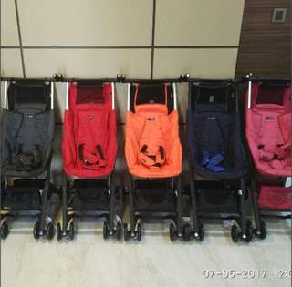 Pockit Cocolatte CL788 and CL789. Trusted seller! Cheapest strollers!