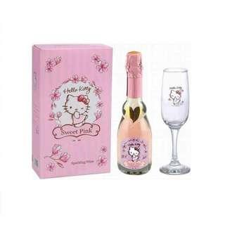 🚚 HELLO KITTY SWEET PINK粉紅氣泡