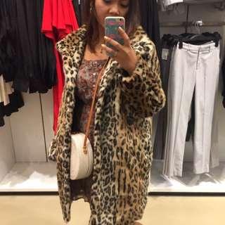 Coat HnM (H&M) leopard