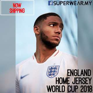 ENGLAND Jersey World Cup 2018