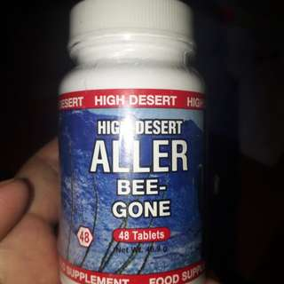 Bee-gone food supplement