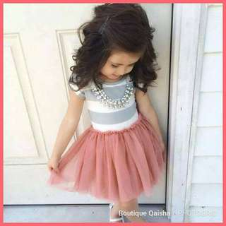 STRIPE TUTU DRESS KIDS