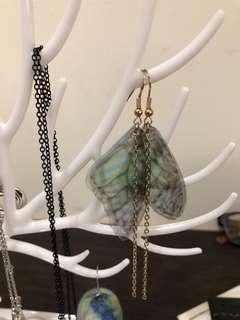 蝴蝶翅膀耳環