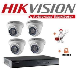 HIKVISION CCTV Package 4