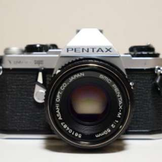 PENTAX ME super 菲林相機   日本代購