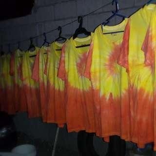 Customized Tie Dye Shirts