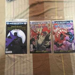 Batman Detective comic titles
