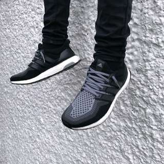 Ultra Boost 2.0 Black Grey BU NEGO