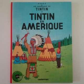 Assorted Tintin Comics