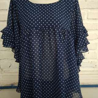 Blouse polka body n soul