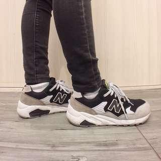 New balance 580 黑灰