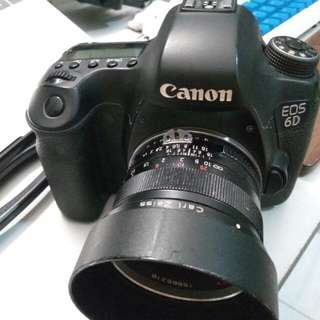 Canon EOS 6D + Carl Zeiss 1,4/50 ZF (manual)