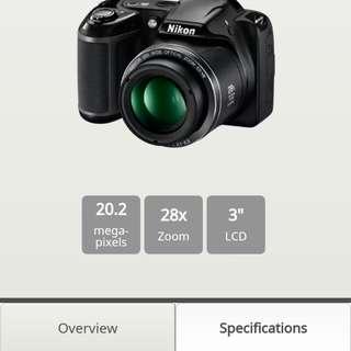 Nikon L340 camera