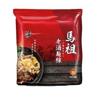 五木馬祖老酒麵線(3包)